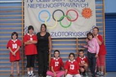 IV Powiatowa Olimpiada Osób Niepełnosprawnych Powiatu Złotoryjskiego i Chorągwi Dolnośląskiej