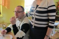 Odżywiam się zdrowo - spotkanie z przyjaciółmi z warsztatów terapii zajęciowej w Wojcieszynie
